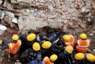 Building collapses in Thakurli