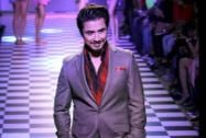 Bollwyood Actor Ali Zafar walks the ramp