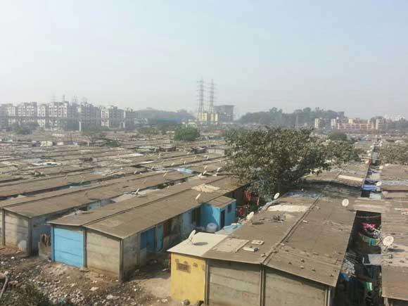 Slum colonies, Fertiliser complex, Monorail