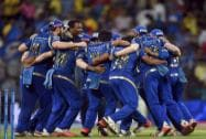 Mumbai Indians beat Chennai Super Kings