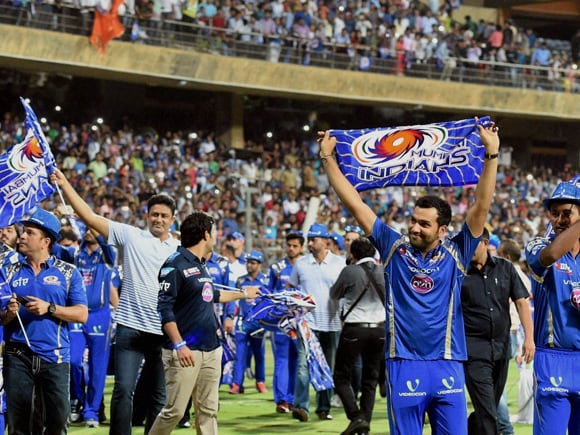 IPL, IPL Pepsi, Mumbai Indian, Sachin Tendulkar, Neeta Ambani, Rohit Sharma,  Pollard, Harbhajan Singh, Wankhede stadium