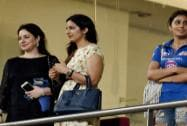 Bharat Ratna Sachin Tendulkar's wife Anjali with Vinay Kumar wife and Rohit Sharma's  Fiancee