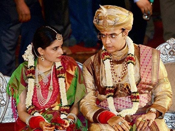 Yaduveer, Wodeyar, yaduveer wadiyar, trishika kumari, yaduveer wadiyar fiance, yaduveer krishnadatta, yaduveer mysore, Mysore Royal family, Marriage