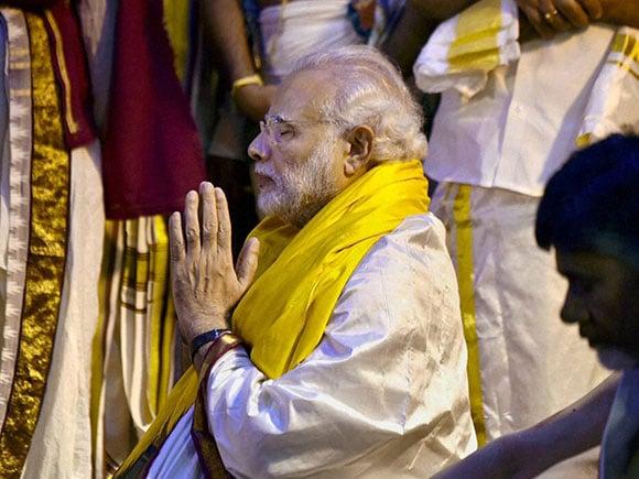 Sri Venkateswara, Tirupati, Narendra Modi