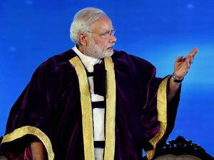 PM Narendra Modi at the inauguration of 104th Indian Science Congress
