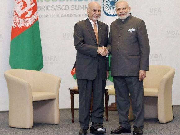 Prime Minister of India, Narendra Modi, Afghan President, Ashraf Ghani, BRICS, UFA, Russia, India, NSA, Ajit Doval, China