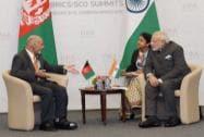 PM Modi meets Afghan President Ashraf Ghani