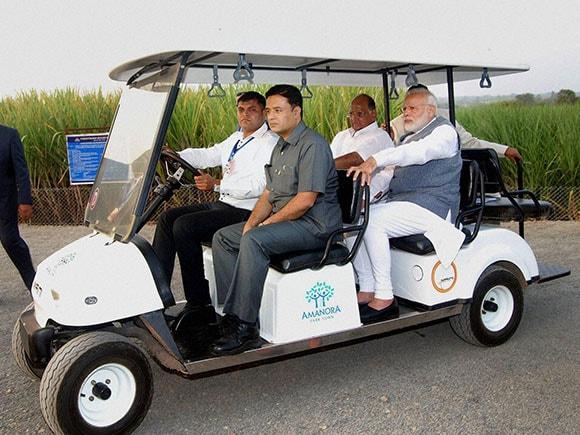 Modi-Pawar, Sharad Pawar, Narendra Modi, Vasantdada Sugar Institute