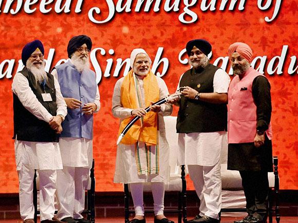 Banda Singh Bahadur, reshuffle cabinet, Banda Singh Bahadur martyrdom, Narendra Modi, Parkash Singh Badal, Sukhbir Singh Bada, Punjab CM, New Delhi