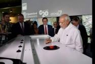 Prime Minister Narendra Modi during a visit to Queensland University of Technology