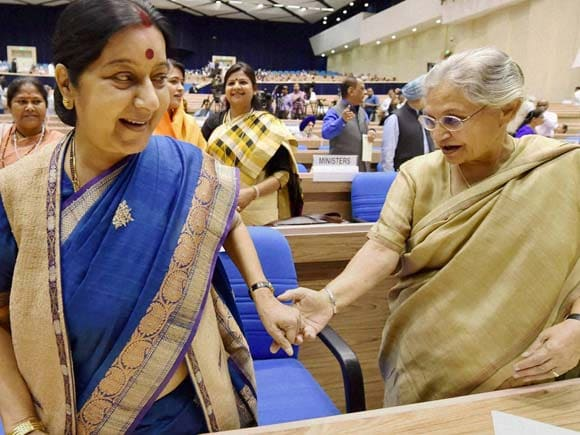 Woman Legislator, Women's Day, Anandiben Patel news,  Sumitra Mahajan images, Pankaja Munde photos, Supriya Sule lok sabha, Sheila Dixit news, National Conference, women's day out