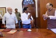 Arun Jaitley, Bharathiraja, Kamal Swaroop