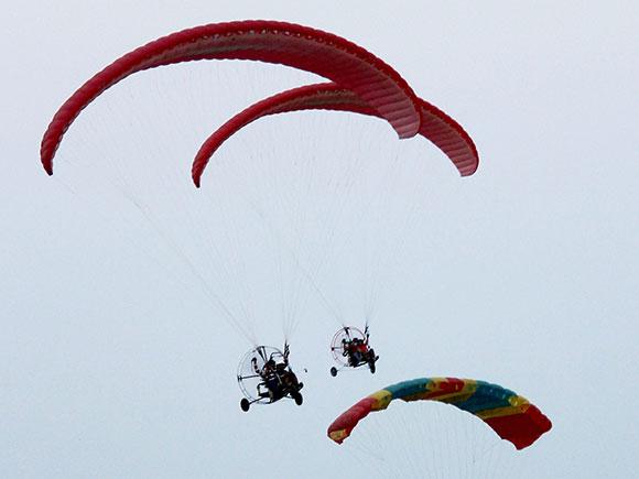 Paramotoring Championship, National Paramotoring Championship 2017, Paragliding, Ramtek, Nagpur