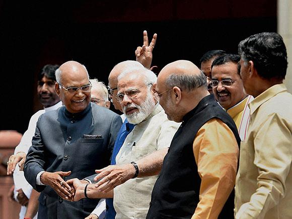 Ram Nath Kovind, presidential election 2017, NDA, Narendra Modi, President of India