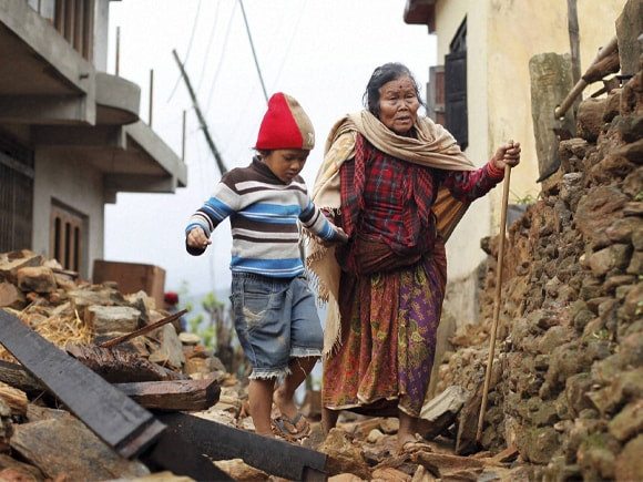 Jagot Kumari Rana, Nepal Earthquake, Nepal, Earthquake, Indian Air Force, India, Kathmandu, 7.8 magnitude, Nepalese people, Gorkha