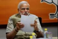 Prime Minister Narendra Modi during the party's Central Election Committee meeting