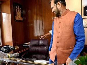Prakash Javadekar takes charge