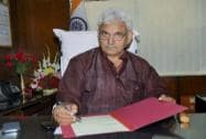 Manoj Sinha takes charge at his office
