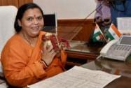 Uma Bharti takes charge at her office