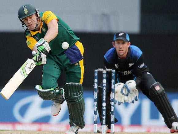 AB de Villiers, Luke Ronchi, World Cup, New Zealand, South Africa, New Zealand vs South Africa, Cricket