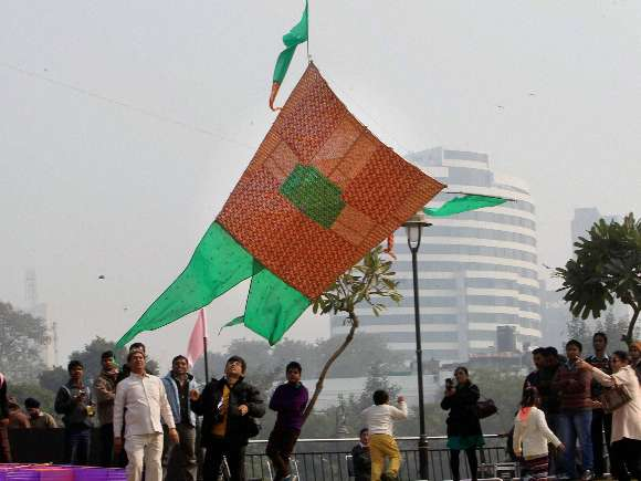 Kite Festival, Connaught Place