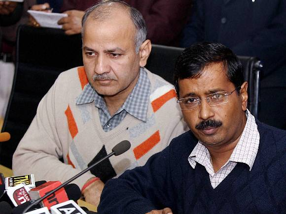 Delhi CM calls addressing a press conference