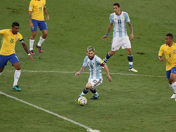 Lionel Messi, Neymar, 2018 World Cup qualifying, 2018 World Cup
