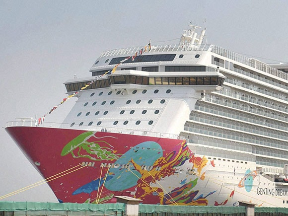 Dream Cruise, Nitin Gadkari, Devendra Fadnavis, biggest cruise ship