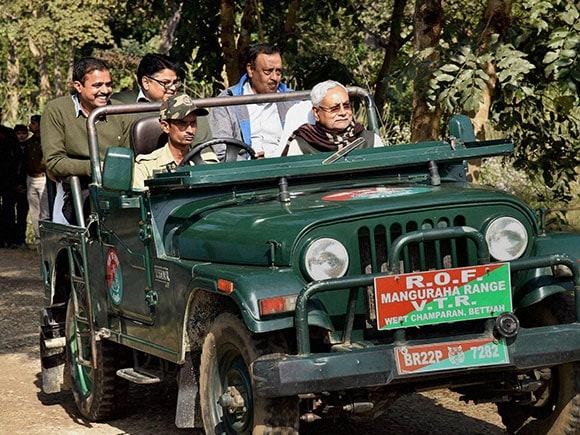 Manguraha forest, Nitish Kumar, Champaran, Bihar