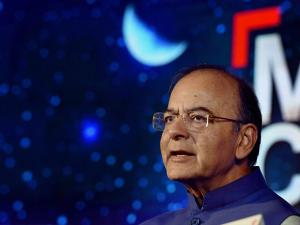 Finance Minister Arun Jaitley during India Today's Conclave on GST, in New Delhi