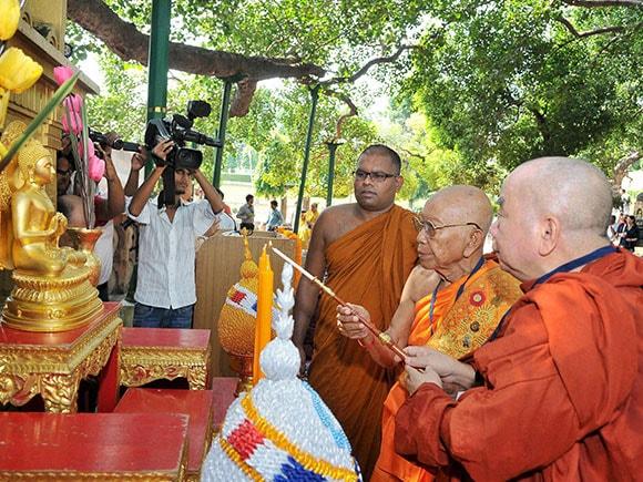 Buddhist Concalave, Buddhist monks, Buddhist, International Buddhist Concalave, Buddhist monks