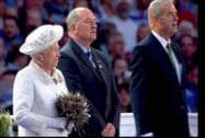 Britain's Queen Elizabeth II at Celtic Park during the opening ceremony of Commonwealth Games 2014