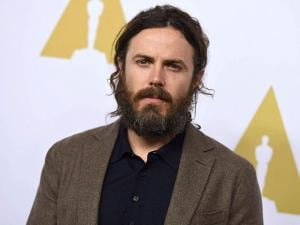 Casey Affleck arrives at the 89th Academy Awards Nominees Luncheon