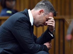 Oscar Pistorius, appears in the High Court for re-sentencing proceedings, in Pretoria, South Africa