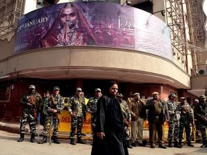 Padmaavat row: High security around movie theatres amid violent protests