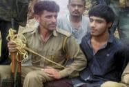 Pakistan Terrorist Kasim Khan Caught Alive
