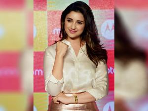 Bollywood actress Parineeti Chopra at the launch of Motorola Moto M