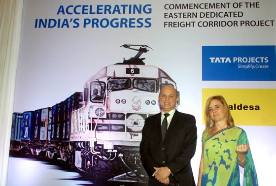 Eastern Dedicated Freight Corridor project, Aldesa, Tata Projects, Vinayak Deshpande, Laura G Barnes
