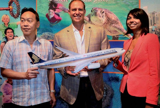 Go Beyond with Singapore Airlines, Mathew Hayden,