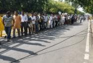 People line up to pay their last respects to former President APJ Abdul Kalam