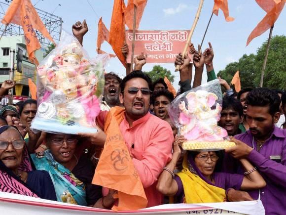 Bajrang Dal, Kumbhkar Sangh, Madhya Pradesh Government, Ganesh, Bhopal