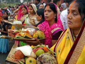 Chhath festival 2015