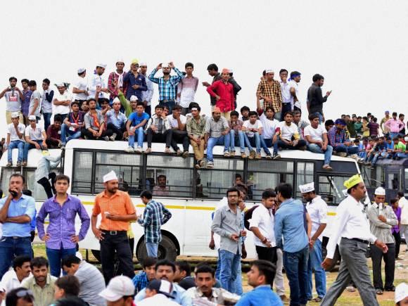 Gujarat's Patel community, Gujarat Chief Minister, Anandiben Patel, OBC quota, Mega Patel rally in Ahmedabad, Patel Rally, Patel Community, Kranti Rally, Hardik Patel, Gujarat