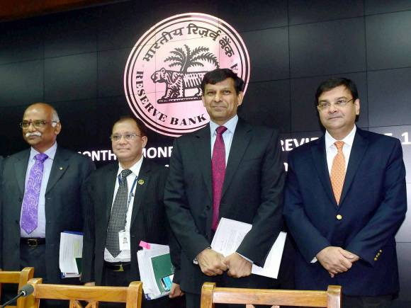 RBI Governor Raghuram Rajan, Raghuram Rajan, Reserve Bank of India, RBI, Repo rate, rate cut, Monetary Policy, bi-monthly monetary policy, Deputy Governors, R Gandhi, S S Mundra, H R Khan, Urjit Patel