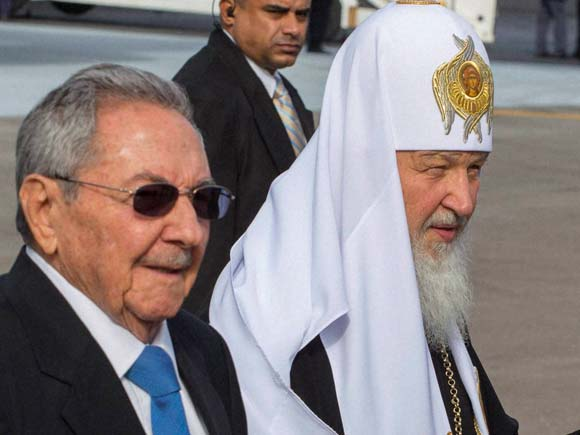 Patriarch Kirill, Russian Orthodox Patriarch Kirill, Raul Castro, Cuba, Havana, Kirill , Russian Orthodox communities, Latin America, Travel