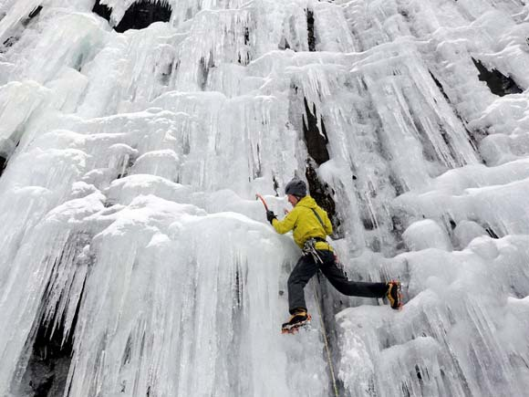 Ice Climber, Don Mellor, New York, Lake Placid, Business Standard, Business, Business Standard epaper, Photo, Picture of the day