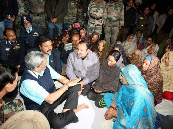 Defence Minister, Manohar Parrikar, Air Chief Marshal Arup Raha