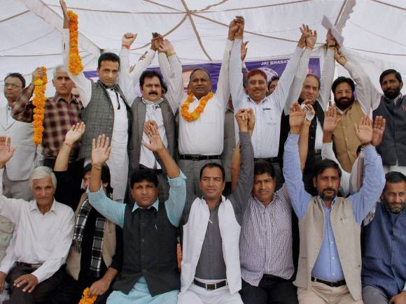 Members of the All India Confederation,  SC, ST, OBC, Jammu