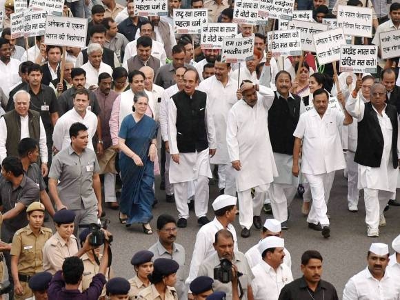 Congress, Sonia Gandhi, Rahul Gandhi, Narendra Modi, Rashtrapati Bhavan, BJP