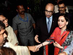 Pakistan High Commissioner to India Abdul Basit